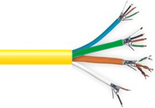 Control Cable. Legend markings for zones and rooms to save installation time.